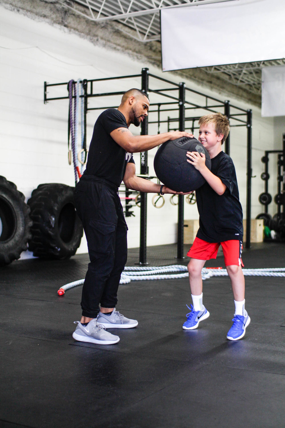 Personal training for children and young adults