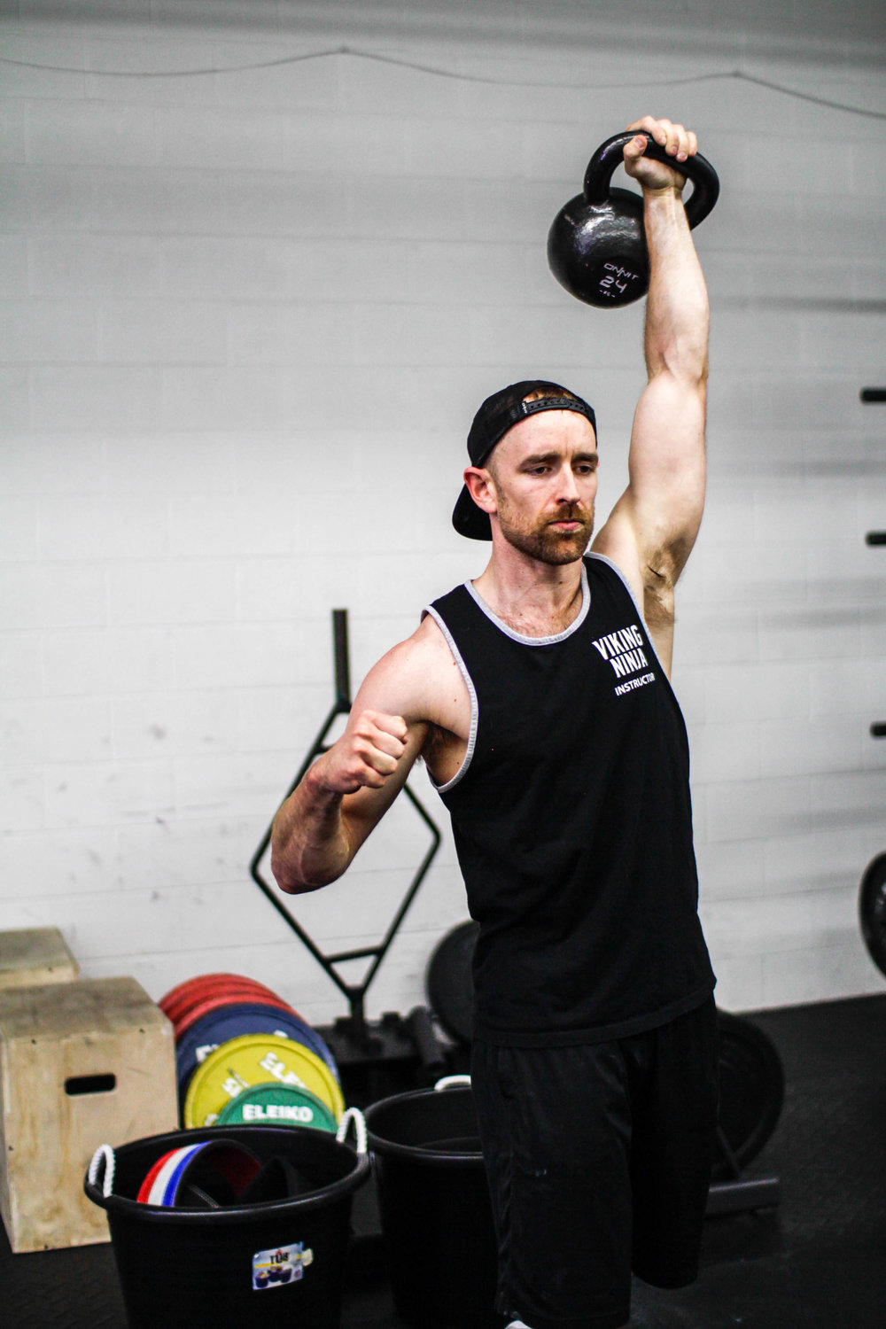 Kettlebell workouts and kettlebell classes near Naperville, Illinois.
