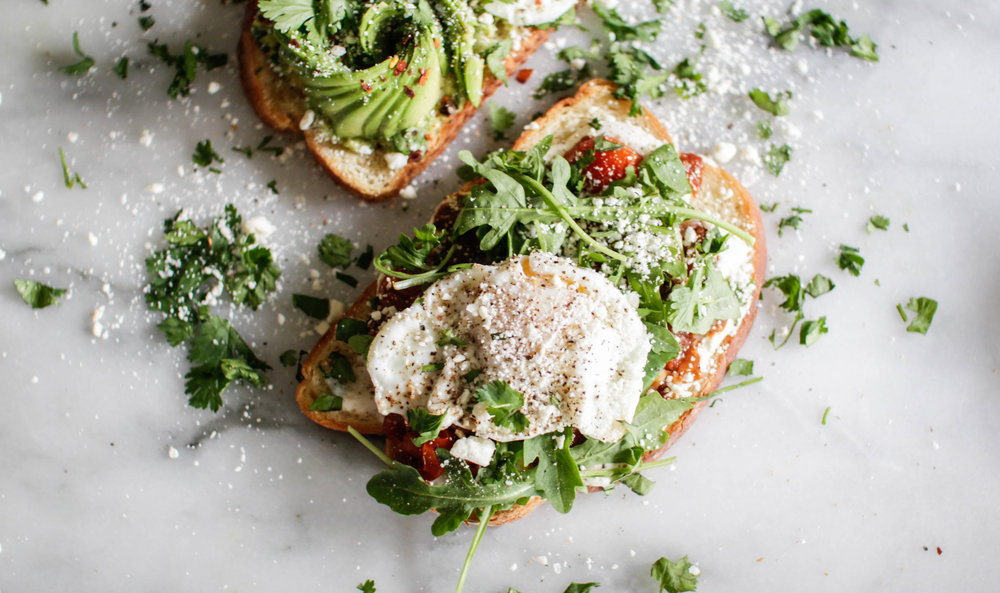 Avocado Toast and Eggs