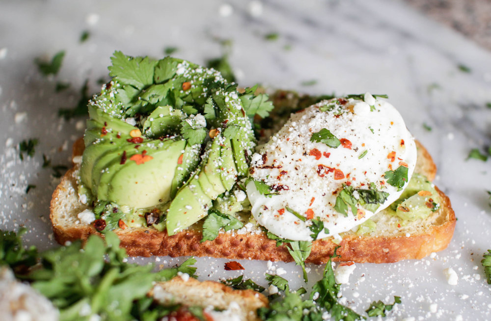 Easy To Make Breakfast Ideas with Egg and Avocado