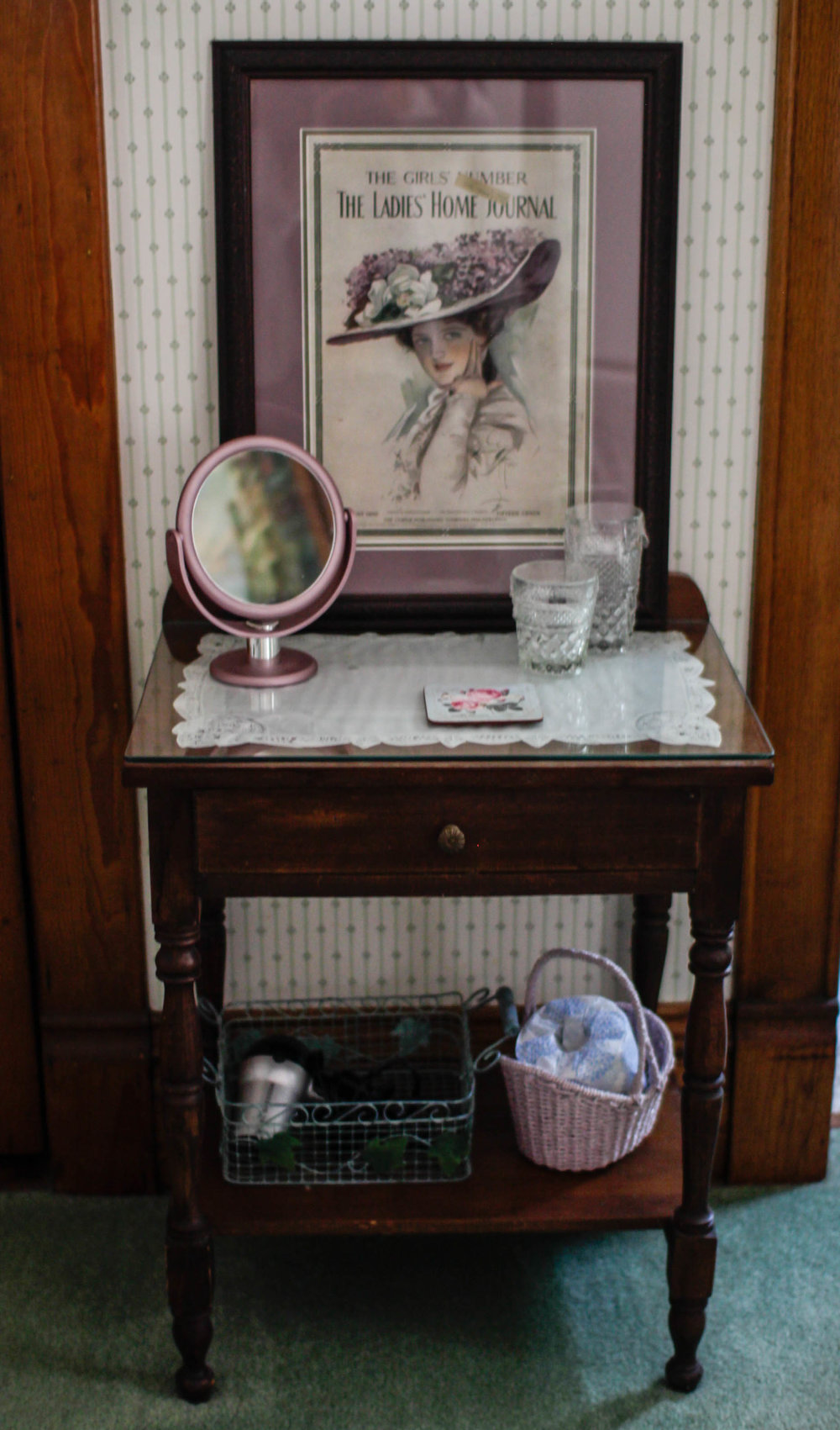 Vintage Makeup Table
