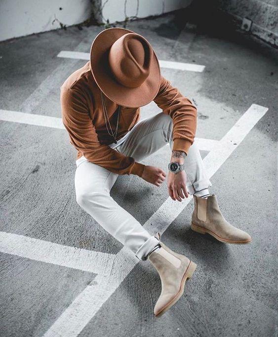 menswear hats