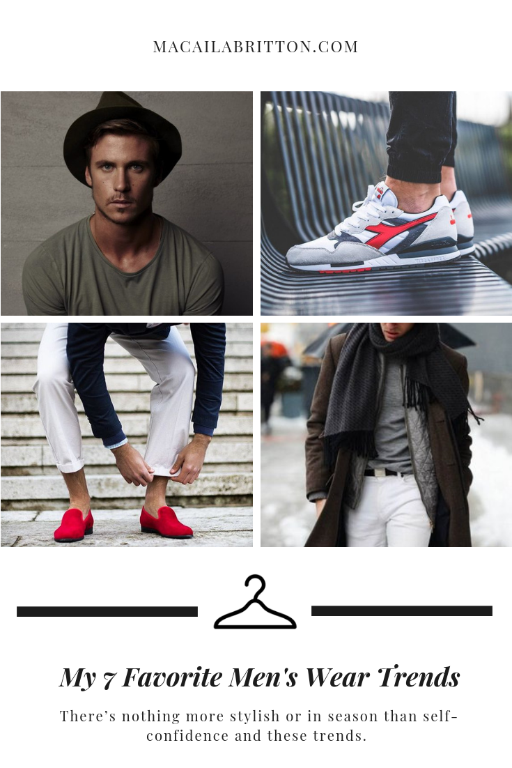 Hottest Men's Fashion Trends