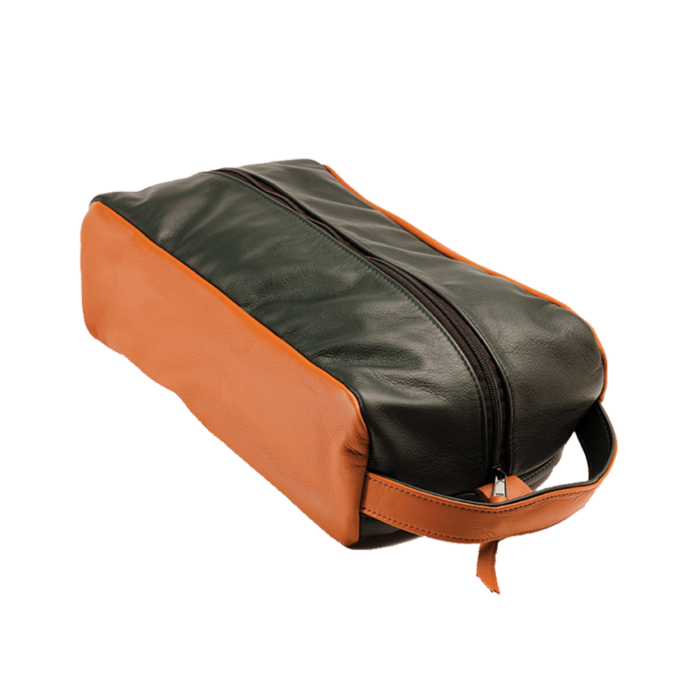 MackKenzie Golf Bags Shoe Bag Leather