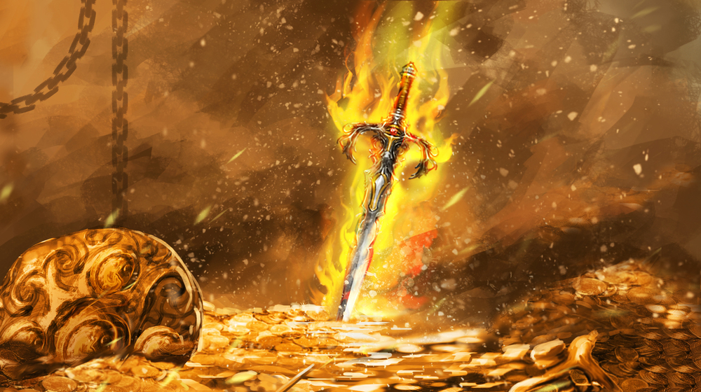 AND CLAIM THE Sword of Kings?    ACCEPT THE CHALLENGE