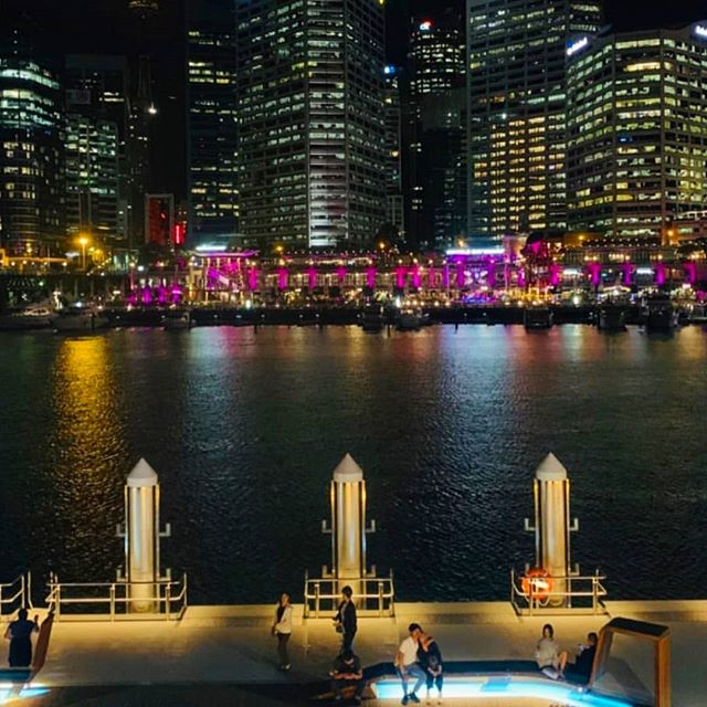 Happy Valentine's Day! We've illuminated Cockle Bay Wharf with a vibrant pink blush for the month of love. Hoping your cheeks are glowing today too! 😊❤🌹#happyvalentinesday  #pink #sydneyevents #destinationmarketing #precinct #lights #twentiethlettermarketing