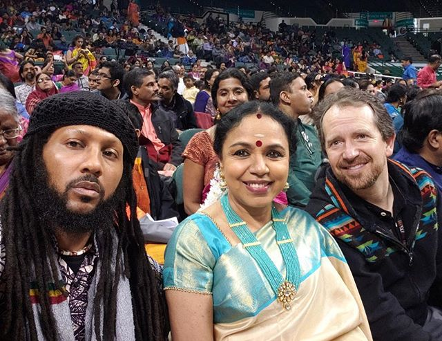 Honored to meet the great @sudha_ragunathan at this year's @clevelandthyagarajafestival #ctf2019