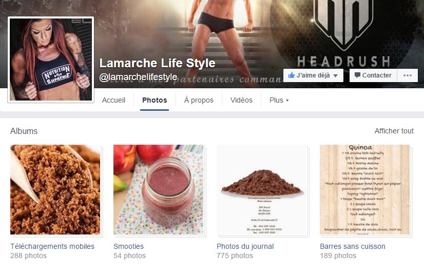 Suivez Chantal sur sa page Facebook pour des CENTAINES de recettes gratuites!
