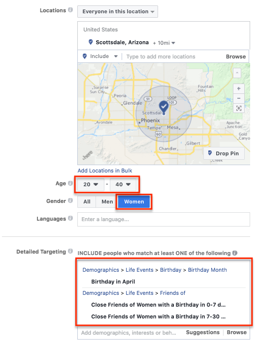 Facebook Ads For Restaurants Targeting FortyWeb.png