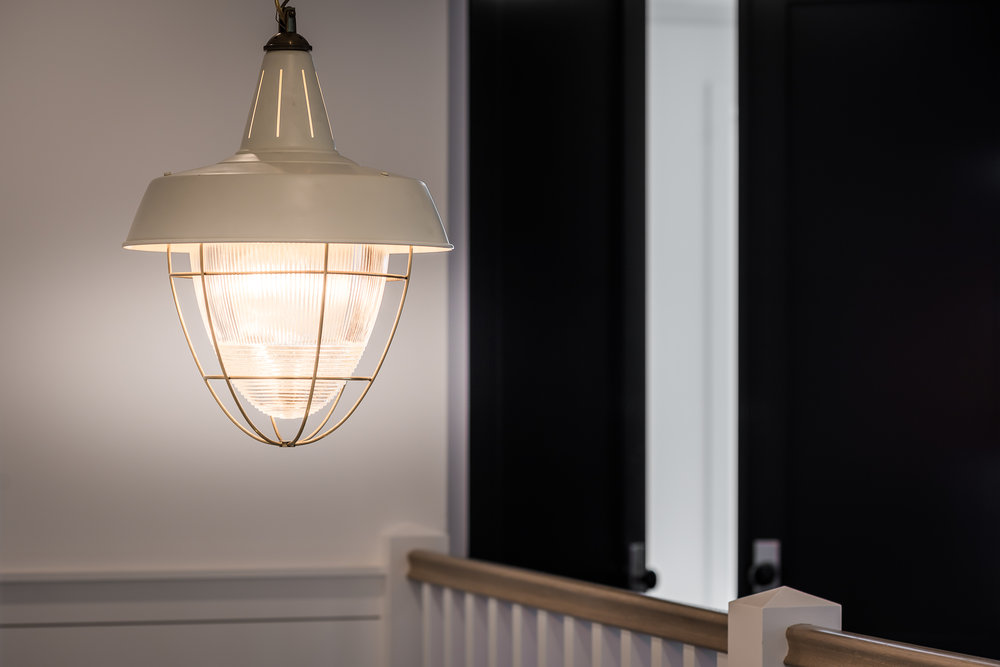 So in love with the this pendant sourced from  Barn Light Electric