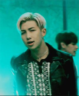 RAP MONSTER  COUNTRY: SOUTH KOREA  YOU'LL FALL FOR HIM IN: MUSIC VIDEO BLOOD SWEAT AND TEARS (AND ANYTIME YOU  HEAR HIM TALK)  (ONE OF MY TOP CRUSHES)