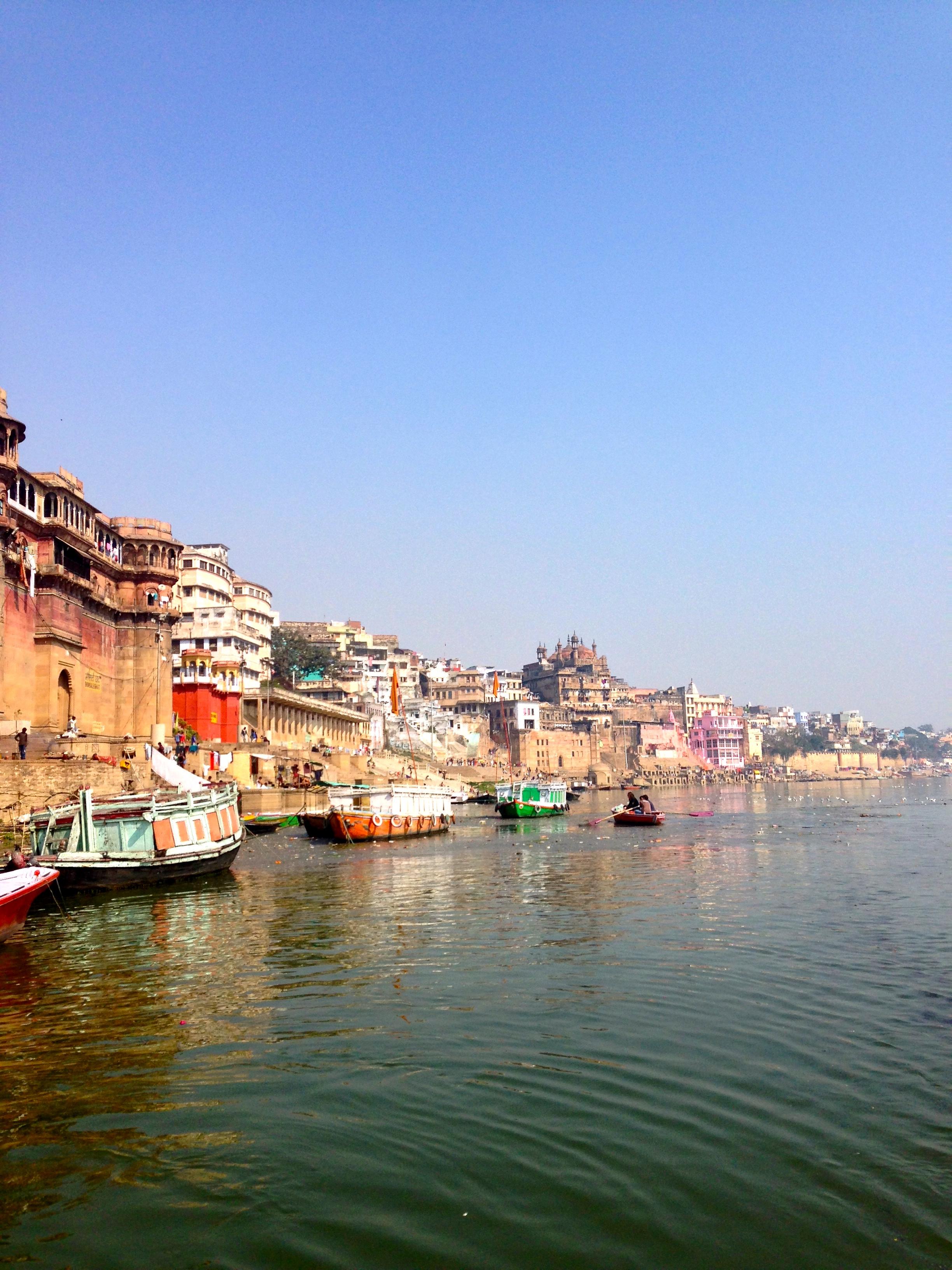 Along the Ganges River