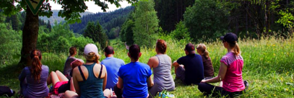 Meditation in the Black Forest.