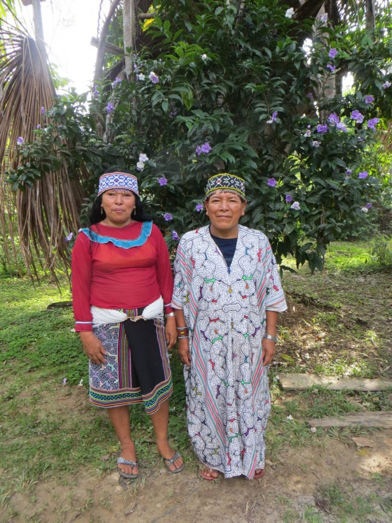 Belmira & Segunda: My two, loving Shamans during my time in the Amazon.