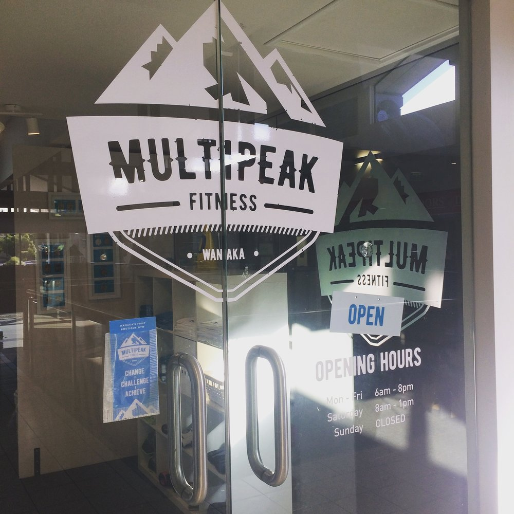 Welcome to Multi Peak Fitness Wanaka