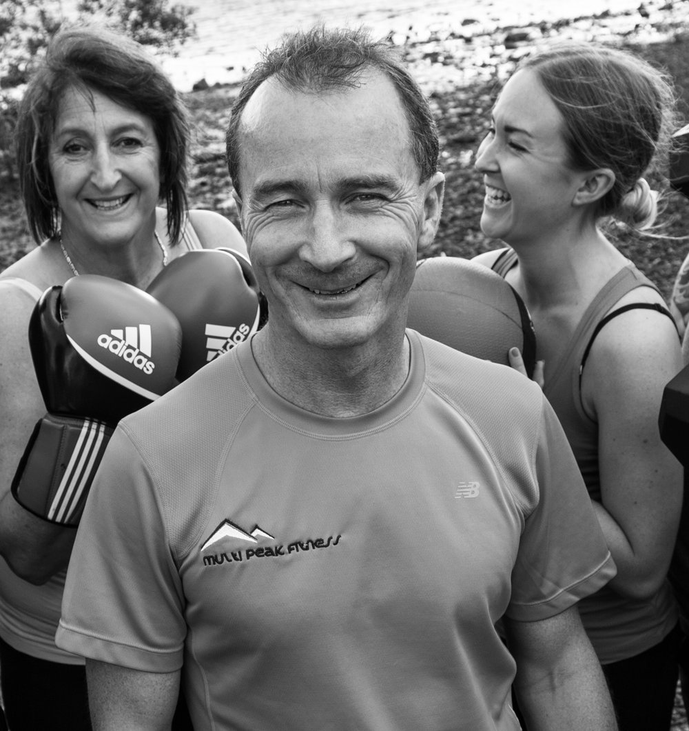 "What is fitness to me? - ""To me fitness is a lifetime commitment and very much a part of my daily life. At Multi Peak Fitness Wanaka I want to be able to give you the opportunity of having somewhere special that will help you to commit to a fitness regime for life."" Martin Mckone, Owner."