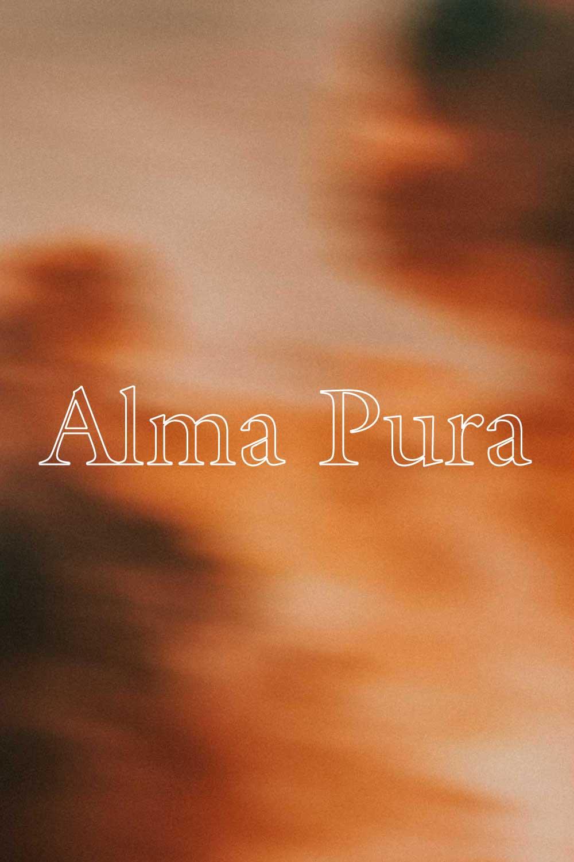 Alma Pura - 85% TEMPRANILLO15% GRACIANO