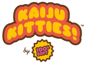 Kaiju Kitties by 100% Soft