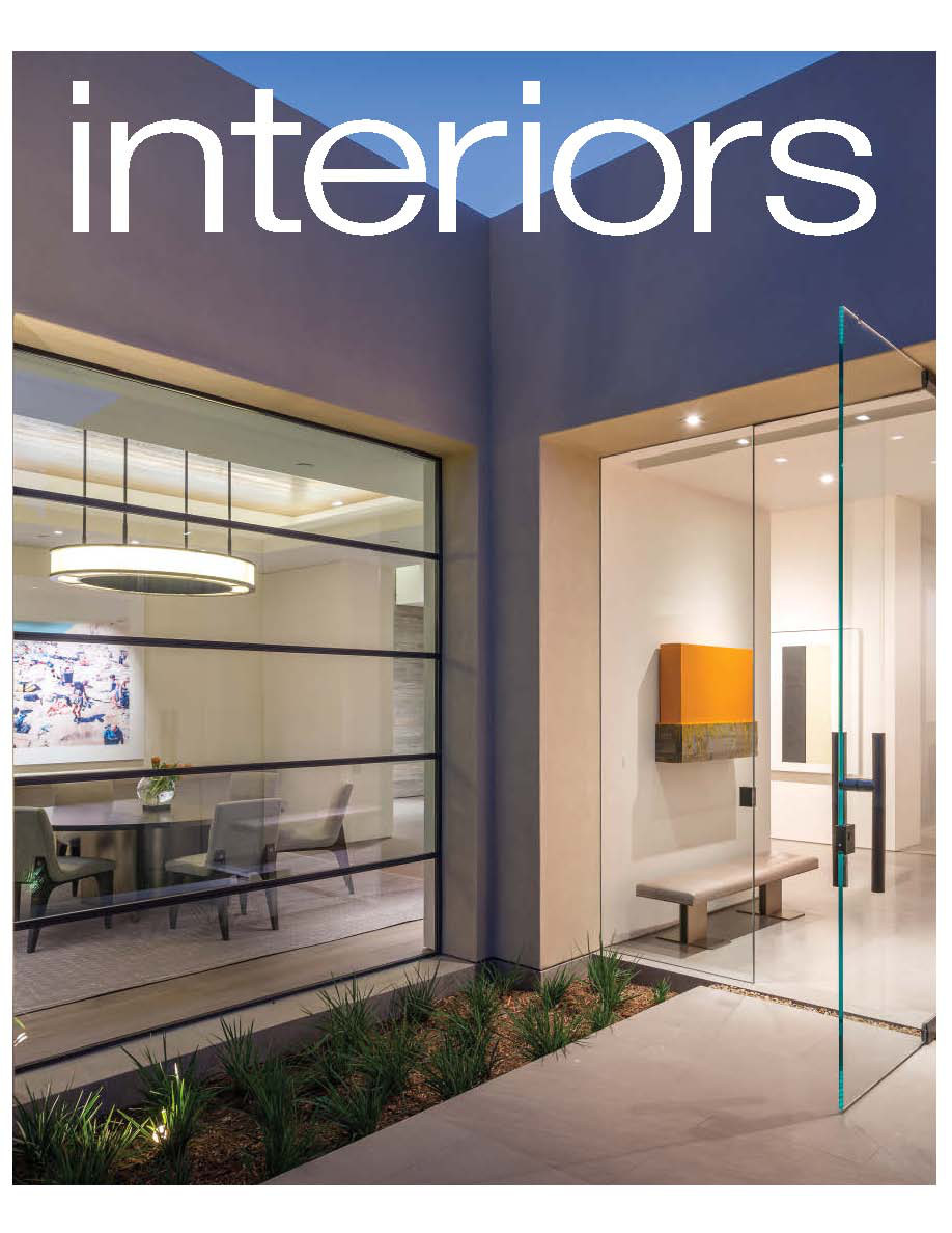 INTERIORS June/July 2015 Issue Our Basic Bar stools featured in a gorgeous lake Tahoe Home with interior design by the talented Jeff Andrews