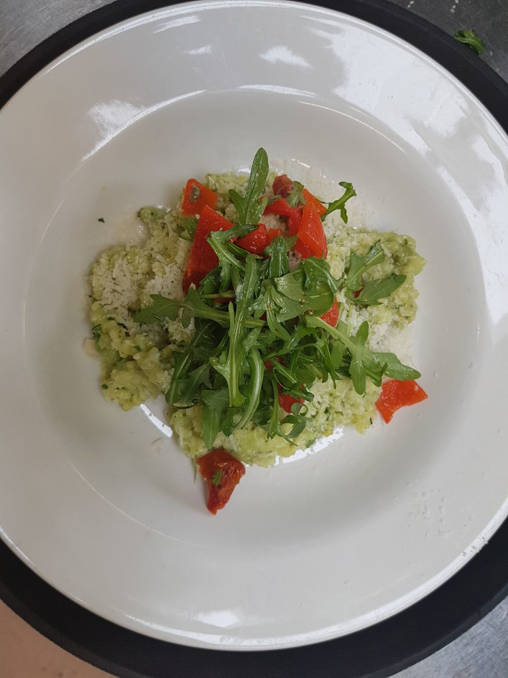 Risotto Verde Sweet Pea Restaurant