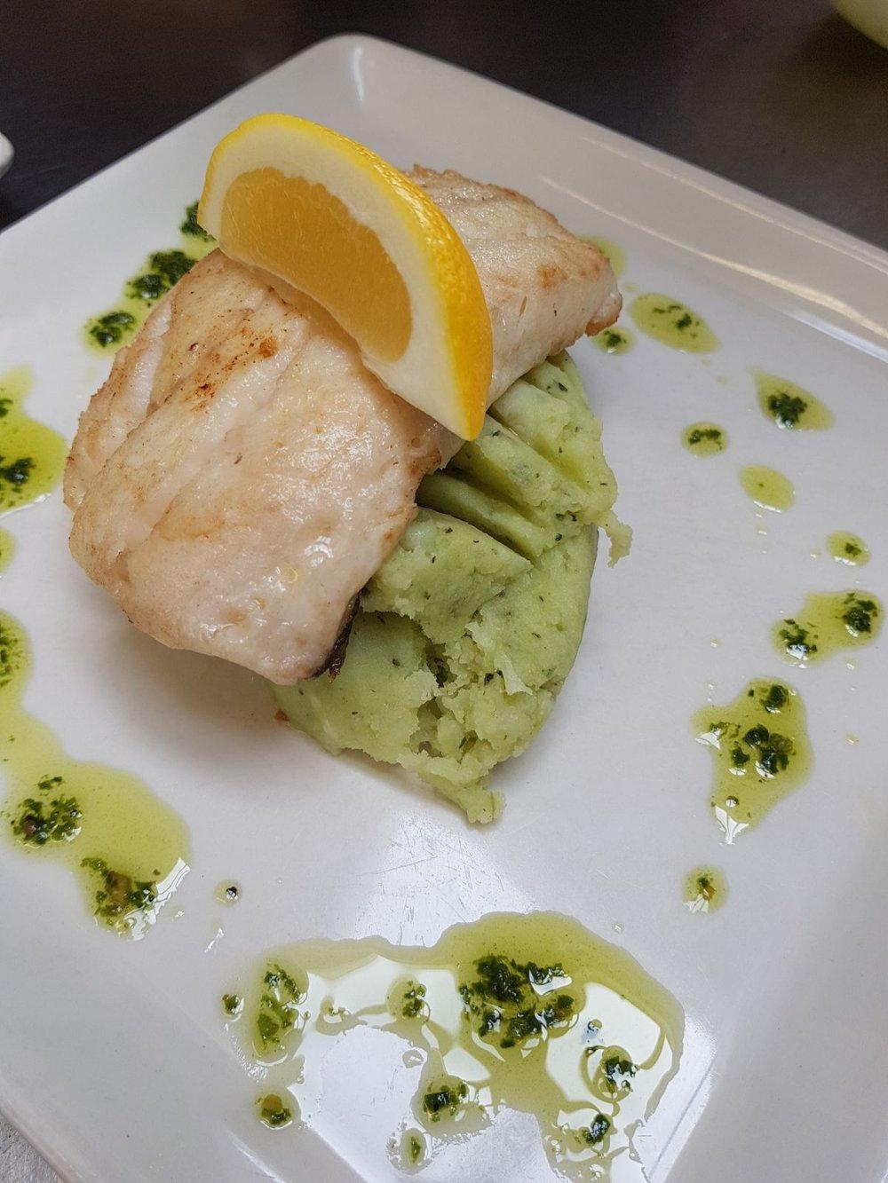 Sweet Pea Restaurant warrenpoint hake
