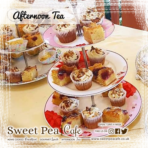 Sweet Pea Cafe Warrenpoint Afternoon tea