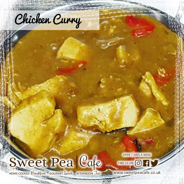 Sweet Pea Cafe Warrenpoint Homemade Chicken Curry