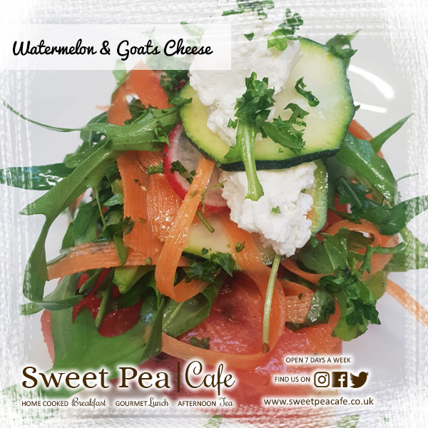 Sweet Pea Cafe Warrenpoint, Watermelon & Goats Cheese