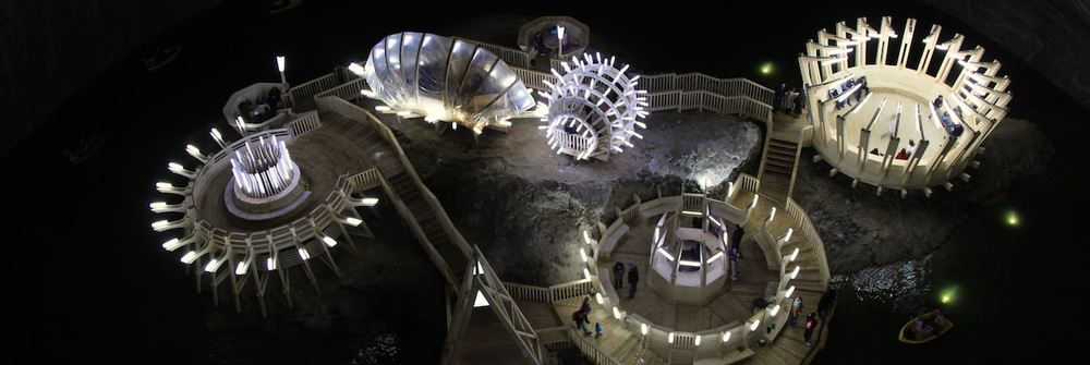 These ancient salt mines nearby Cluj are the most spectacular underground place on Earth, according to  Business Insider