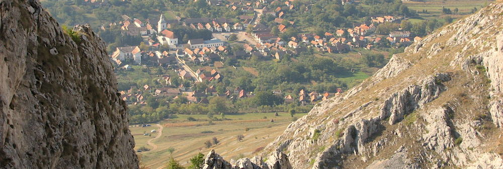 This UNESCO-Heritage Site is a Medieval Hungarian village surrounded by beautiful mountains located in central Transylvania
