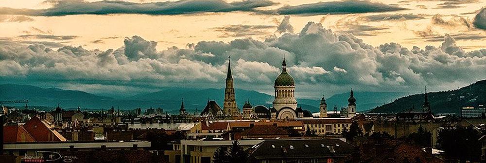 Cluj skyline