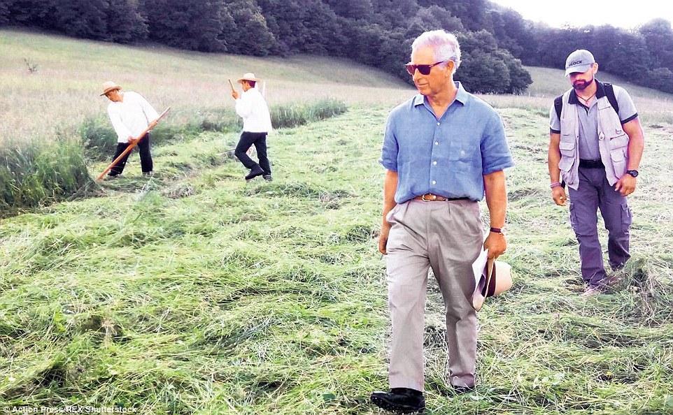 Prince Charles in Transylvania