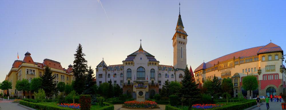 Centrul oraşului Târgu Mureş (copyright:  creative commons )