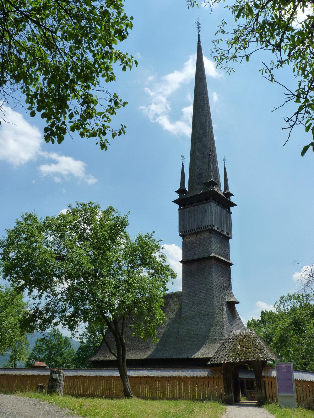 The Wooden Church of Surdesti (copyright: creative commons)