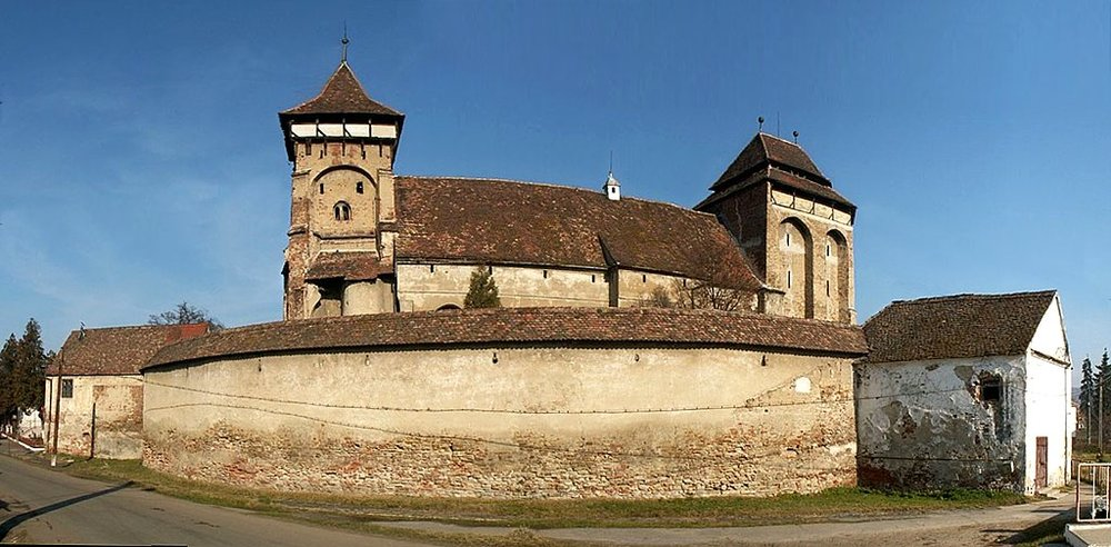 The Fortified Church of Valea Viilor (copyright:  creative commons )