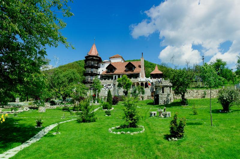 Castelul Lupilor,Chimindia, jud. Hunedoara (image source)