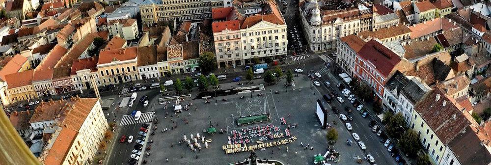 Unirii Square, Cluj-Napoca (photo source)
