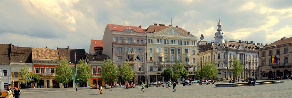 Unirii Square, Cluj-Napoca ( photo source )