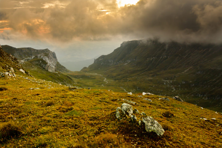 Bucegi, Romania. Before the storm (copyright: creative commons)