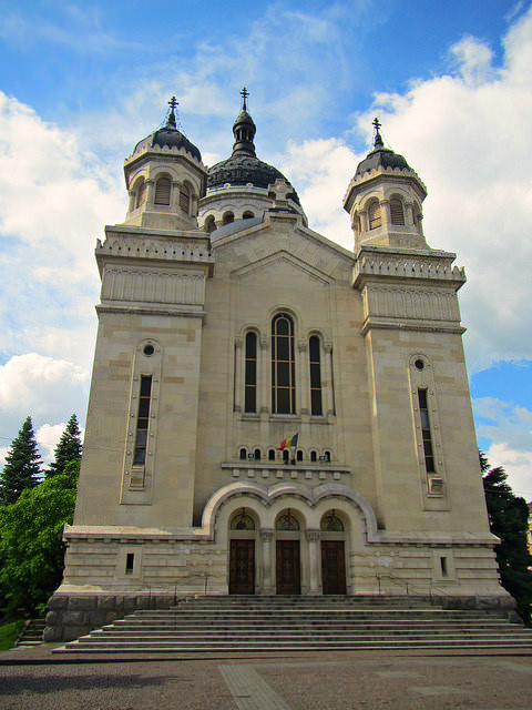 The Metropolitan Cathedral of Cluj (copyright:  creative commons )