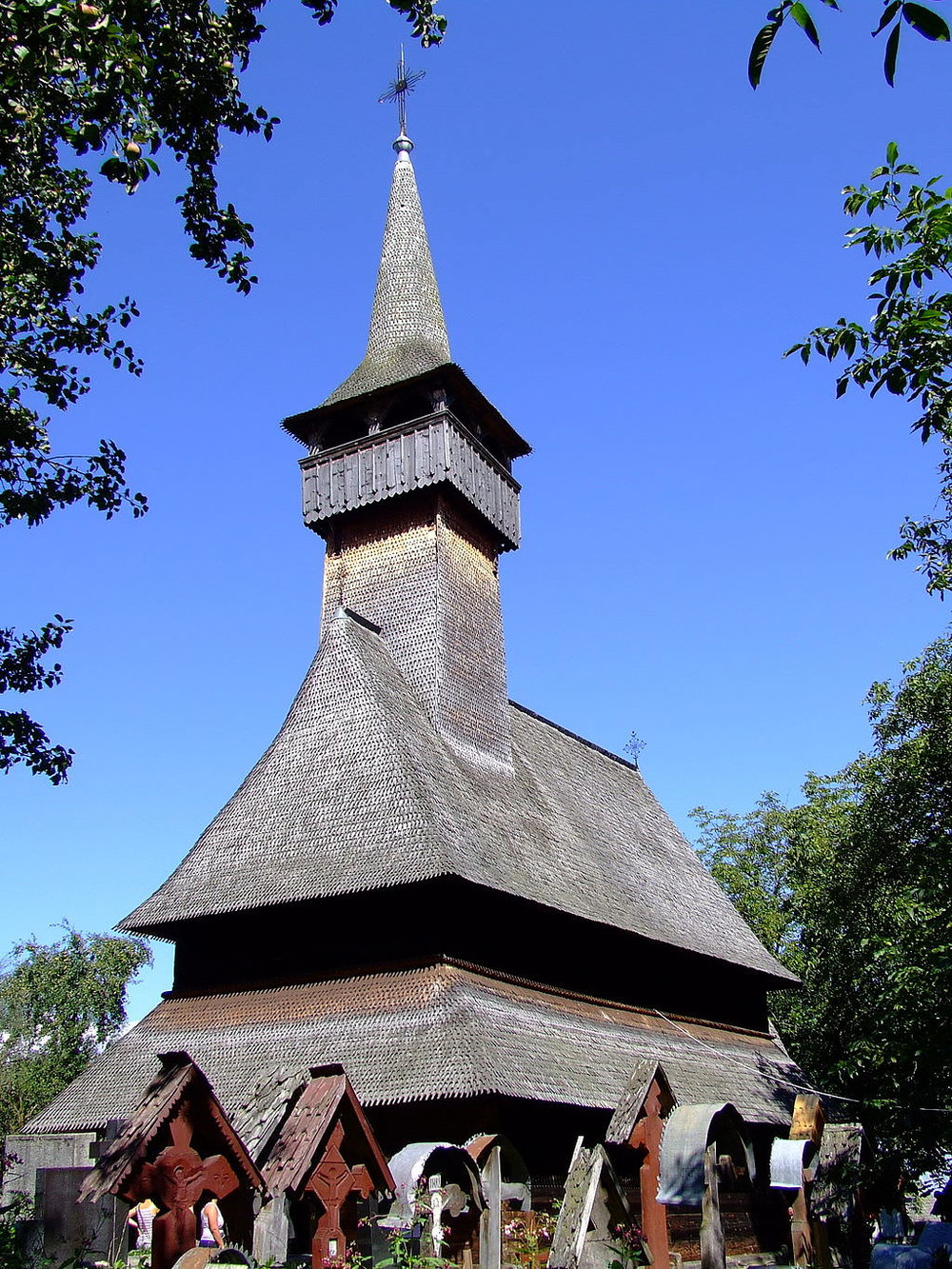 The Wooden Church of Ieud Deal (copyright: creative commons)