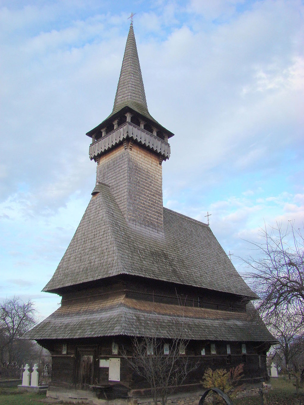 The wooden church of Sugatag (copyright:  creative commons )