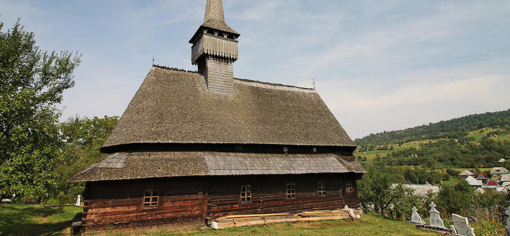 The Budesti Josani Wooden Church