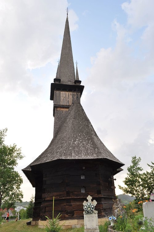 The Wooden Church of Plopis