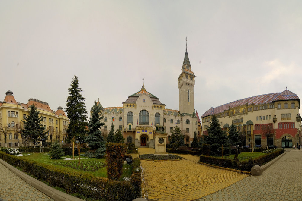 Centre of Targu Mures (copyright: creative commons)