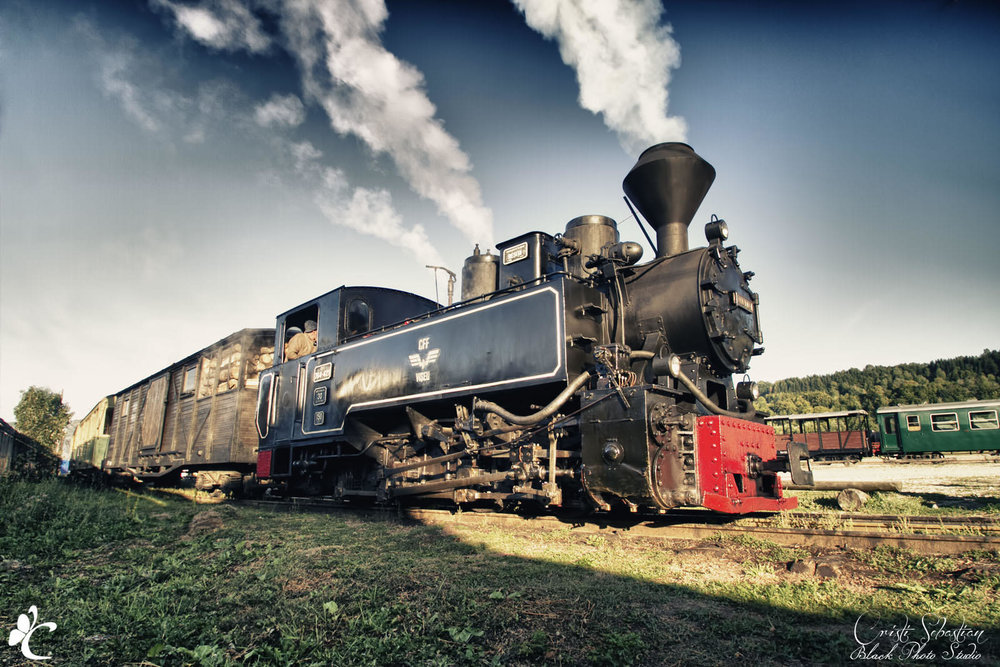 Mocanita Steam Train (copyright: Cristi Sebastian Photography )