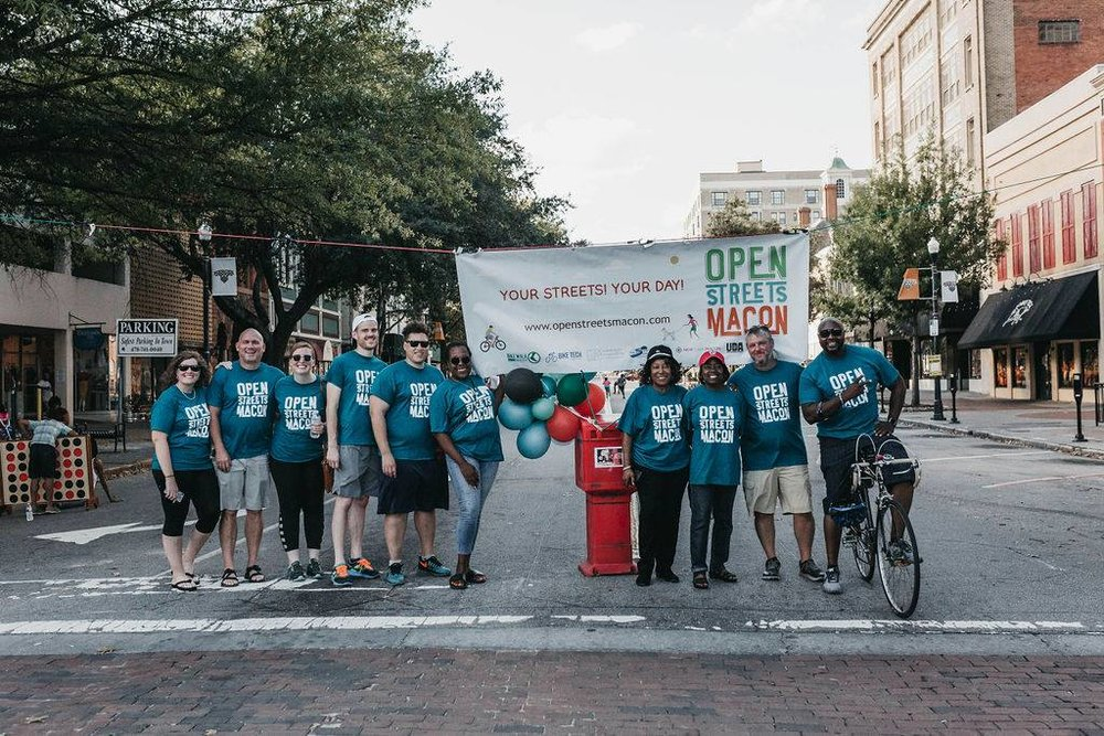 "IT'S ABOUT PEOPLE    ""That cyclist is a human being; those bus riders are people. They're not some subset of humanity,"" said Alex Morrison, Bike Walk Macon board member."