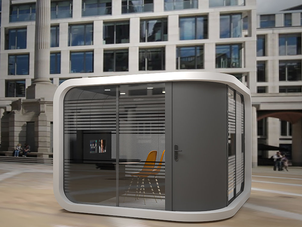Vlocate - Through its unique ability to be outside the Vlocate pod offers unrivalled choice for those who need to make better use of valuable real estate. When a lack of space and privacy risk compromising basic operational effectiveness and productivity, we provide a new space in underused external areas.Break free from the constraints of inflexible buildings where change often results in long periods of disruption and inconvenience. Our external modular construction ensures that crucial facilities can be created with speed and without disturbing the existing building or, more importantly, its occupants.The pop up podDesigned to withstand the elementsTechnology outdoorsVext: Thinking of the box outside