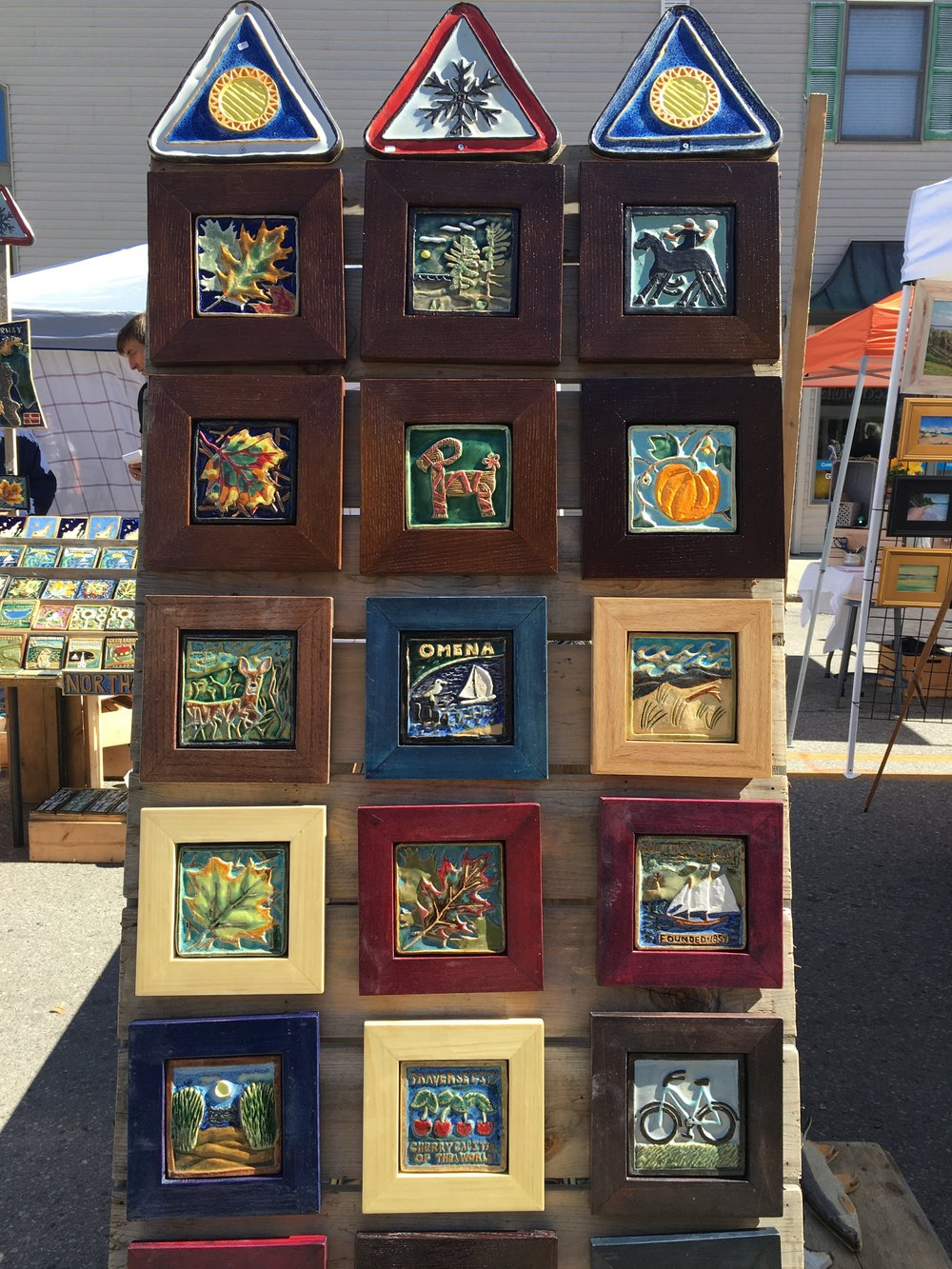 2017 artist vendor Sporck Tile Arts