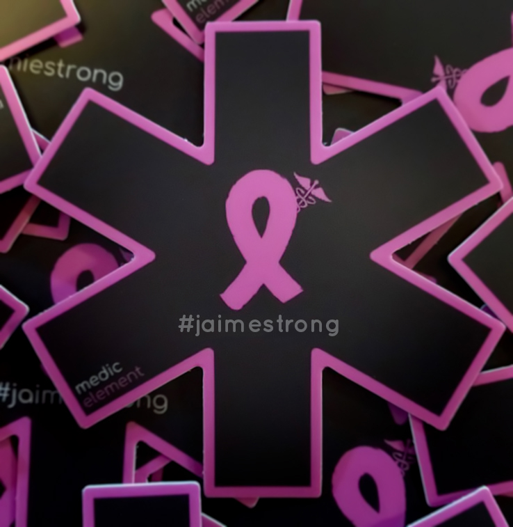 #jaimestrong Fundraiser - Jaime is a dispatcher for Connecticut's air medical program (LIFESTAR) based out of Hartford. She is bravely battling breast cancer and needs our help. All of the proceeds from these sales will be directed to assist her medical expenses and assist with specific needs